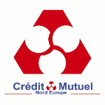 Logo Crédit Mutuel Nord Europe CMNE